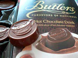 Butlers choklad