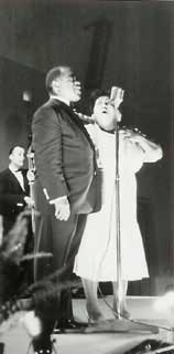 Louis Armstrong och Velma Middleton